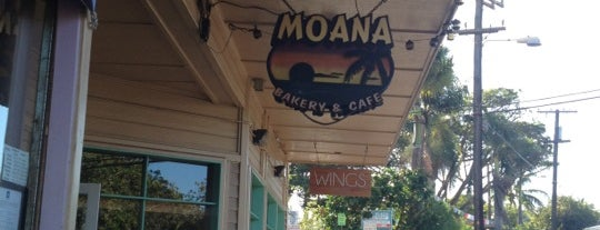 Moana Bakery & Cafe is one of Locais salvos de Khris.