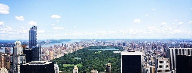 Top of the Rock Observation Deck is one of NYC Best Photo Locations.