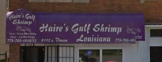 Haire's Gulf Shrimp is one of Chicago.