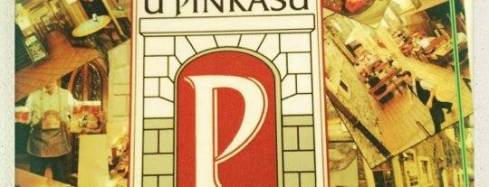 U Pinkasů is one of Пражские пивные - рекомендации от DailyBeer.eu.
