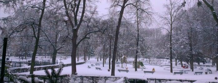 Parc du Contades is one of Strasbourg - Capitale de Noël - #4sqcities.