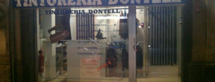 Tintoreria Dontell is one of Куда отвести друзей в Барселоне.