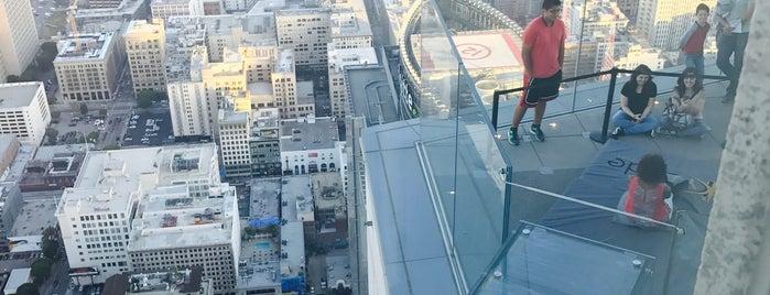 Skyslide is one of LA   Next.