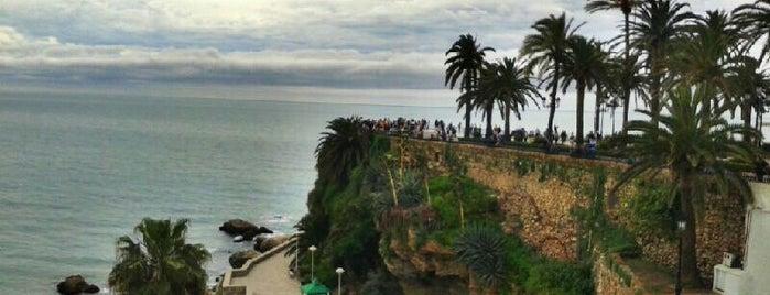 Balcón de Europa is one of Malaga, Spain.