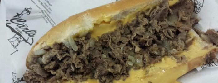 Carl's Steaks is one of The Craigs @Yankees.