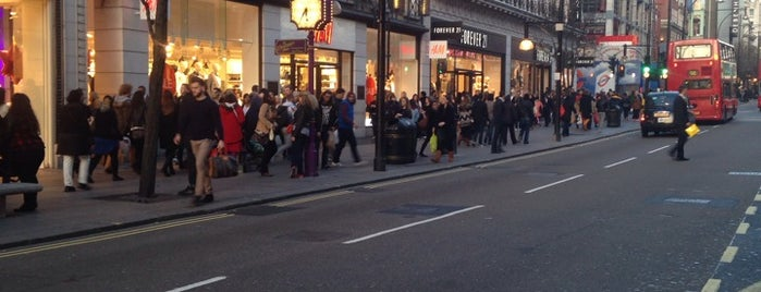 Oxford Street is one of Wher to go in London.