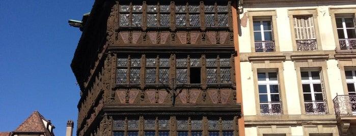 Maison Kammerzell is one of Strasbourg.