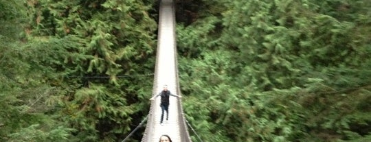 Lynn Canyon Park is one of Beautiful British Columbia we've been in...