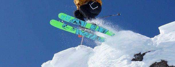 Lake Louise Ski Area & Mountain Resort is one of Stevenson Favorite Skiing Mountains.