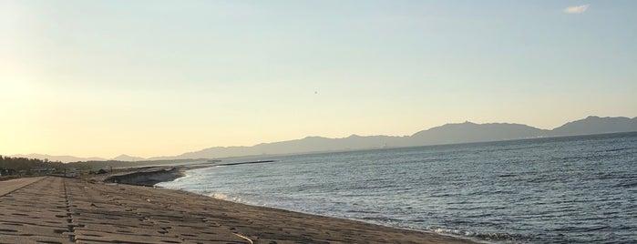弓ヶ浜海岸 is one of 日本の渚百選.