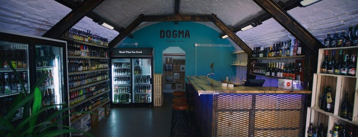 Dogma Bottle Shop is one of Tempat yang Disukai Nikita.