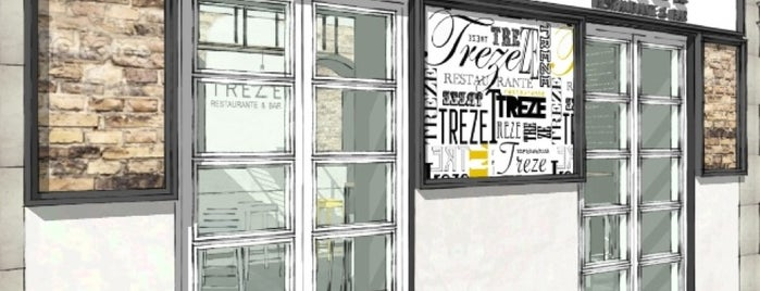 TreZe Restaurante & Bar is one of MADRID 2.
