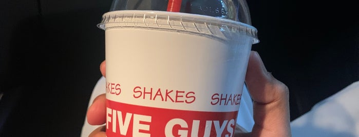 Five Guys is one of Adam's Saved Places.
