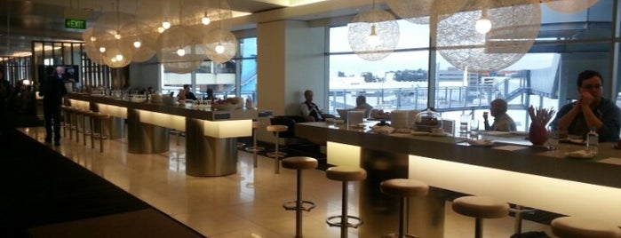 Qantas International Business Lounge is one of Yves's Liked Places.