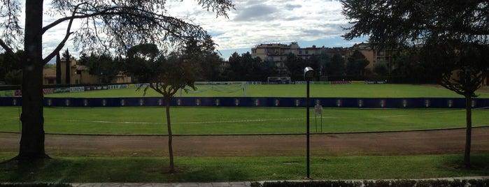 Centro Tecnico F.I.G.C  Coverciano is one of Основной состав.