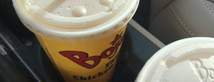 Bojangles' Famous Chicken 'n Biscuits is one of Lieux qui ont plu à Christopher.