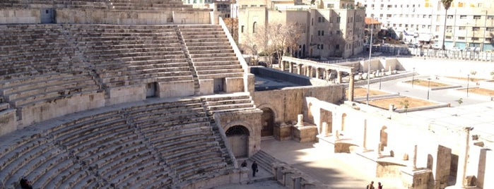 Roman Theater is one of Tempat yang Disukai Marco.