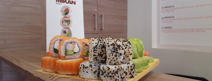 Mikan Sushi Santiago is one of Donde llevar a la polola.