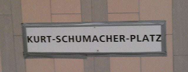 U Kurt-Schumacher-Platz is one of U & S Bahnen Berlin by. RayJay.