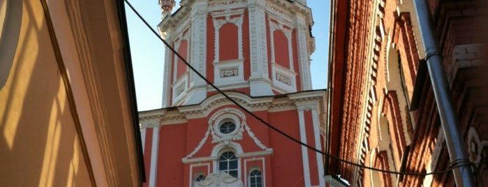 Церковь архангела Гавриила is one of 100 примечательных зданий Москвы.