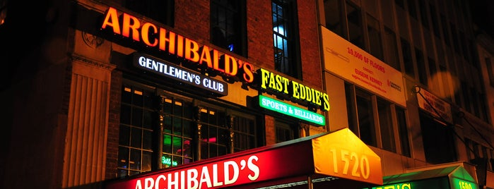 Archibald's is one of Gentleman's Clubs Around the Nation.