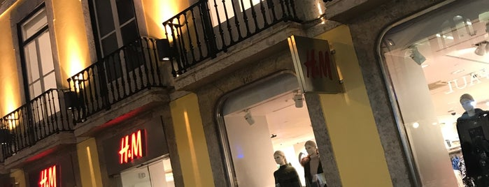 H&M is one of Lisboa.