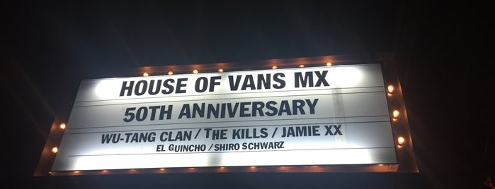 House of Vans MX 2016 is one of Jacquelineさんのお気に入りスポット.