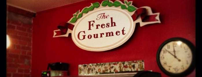 The Fresh Gourmet is one of Noms I eat at a lot.