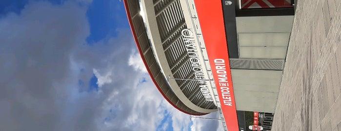 Estadio Wanda Metropolitano is one of Locais salvos de Finn.