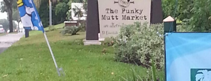The Funky Mutt Market is one of Central FL.