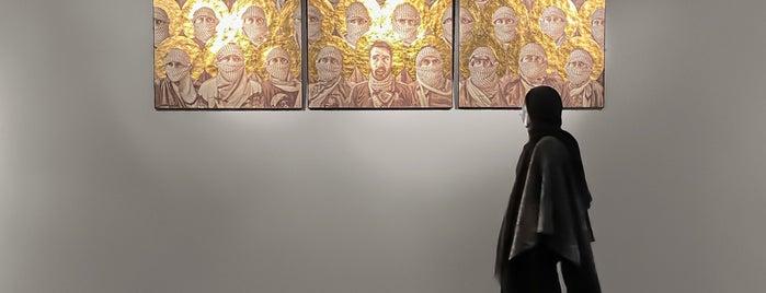 Azad Art Gallery | گالری طراحان آزاد is one of Patrick : понравившиеся места.