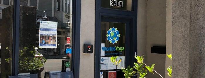 Worlds Yoga is one of Lieux qui ont plu à Myles.