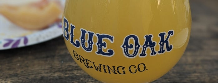 Blue Oak Brewing Company is one of Yet to Visit.