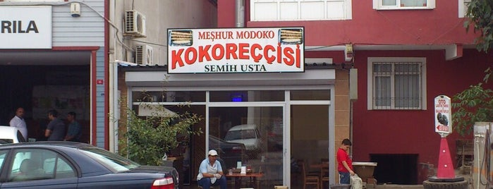 Modoko Kokoreccisi Semih Usta is one of Sonradan Gurme.