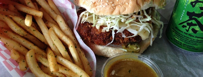 Katsu Burger is one of Seattle.