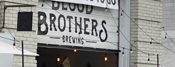 Blood Brothers Brewing is one of Toronto.