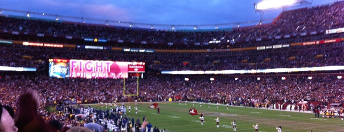 FedEx Field is one of All-time favorites in United States (Part 2).