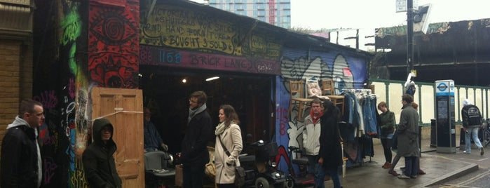 Brick Lane is one of Must Visit London.