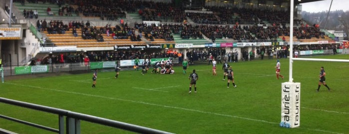 Stade Amédée Domenech is one of 'Stadium Talk'....