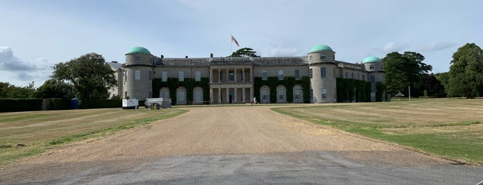 Goodwood House is one of CBS Sunday Morning 5.