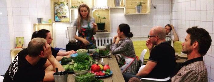 Cucumbers vegetarian street food is one of Уля: сохраненные места.