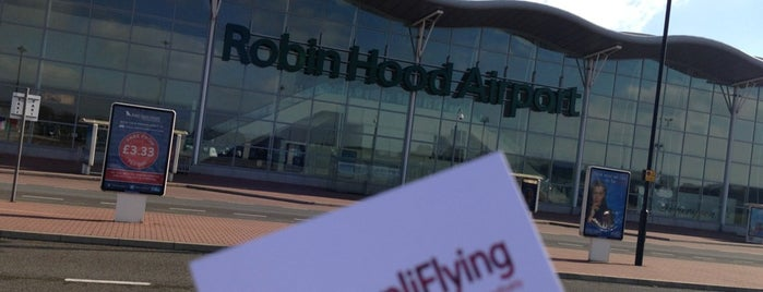 Robin Hood Airport (DSA) is one of Airports Worldwide....