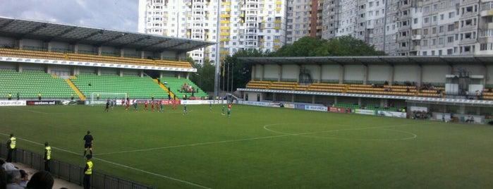 Stadionul Zimbru is one of Lieux qui ont plu à Paul.