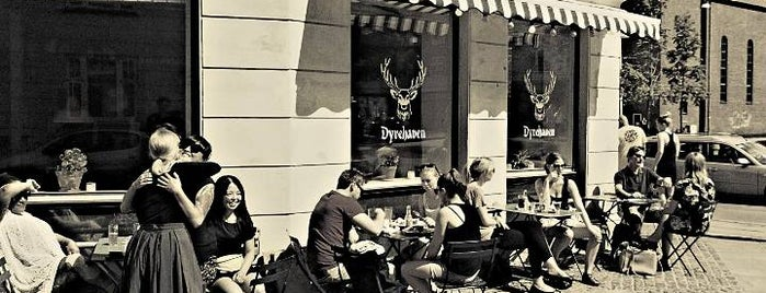 Cafe Dyrehaven is one of Europe.