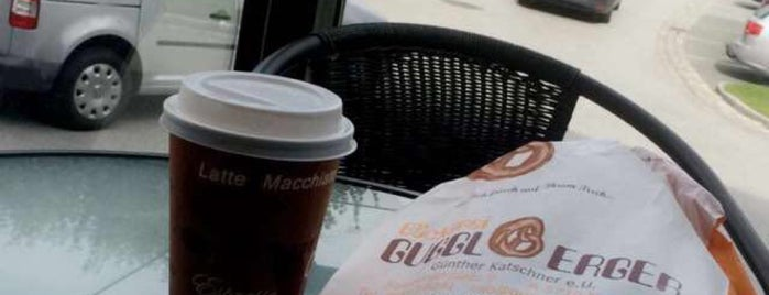 Bäckerei & Cafe Gugglberger is one of Tempat yang Disukai Rema.