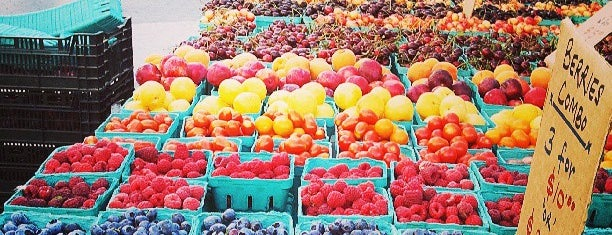 Union Square Greenmarket is one of Big Apple Venues.