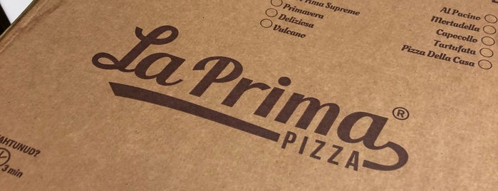 La Prima Pizza is one of Lugares guardados de Kirill.