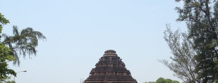 Konark Sun Temple is one of Things to See.