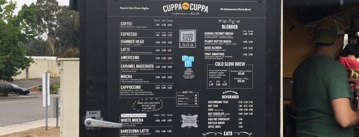 Cuppa Cuppa Drive-Thru Espresso Bar is one of Conrad & Jenn 님이 저장한 장소.