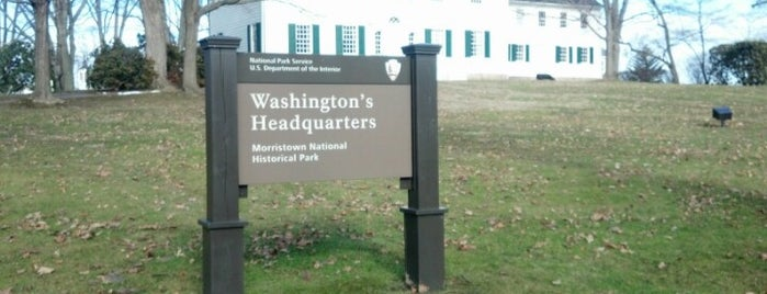 Washington's Headquarters Museum is one of Lieux sauvegardés par Lizzie.